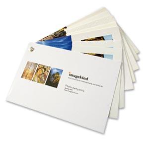 Imagekind - Paper & Canvas Sample Kit
